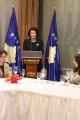 Fjala e Presidentes së Republikës së Kosovës në pritjen tradicionale për Korin Diplomatik